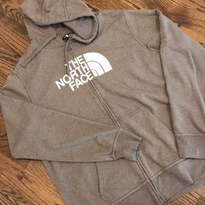 North Face half dome full zip hoodie
